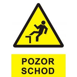 Pozor schod