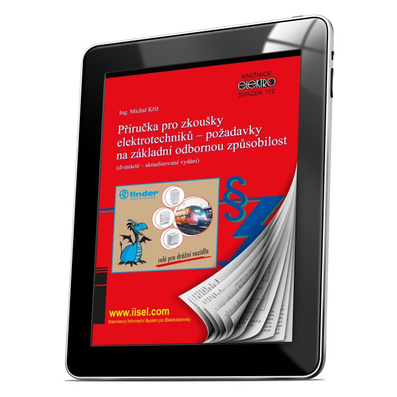 112. Příručka pro zkoušky elektrotechniků - požadavky na základní odbornou způsobilost